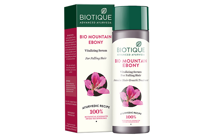 10. Bio Mount Ebony Vitalizing Serum For Falling Hair