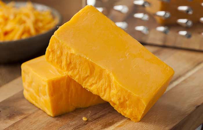10. Cheddar Cheese