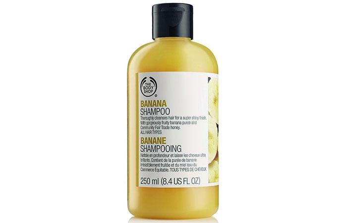 10. The Body Shop Banana Shampoo