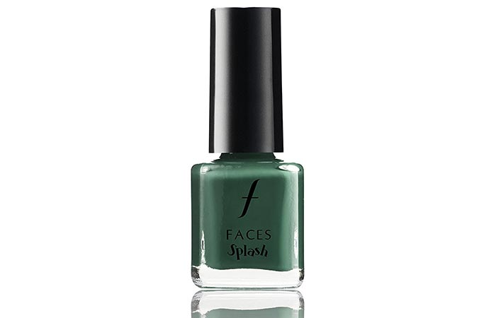 14. Faces Splash Nail Enamel, Tropical Green 59