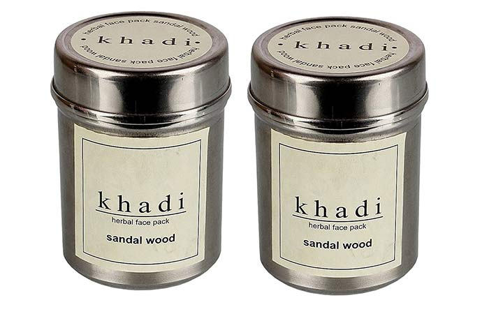 Safe Skin Care Products For Pregnant Women - Khadi Sandalwood Face Pack