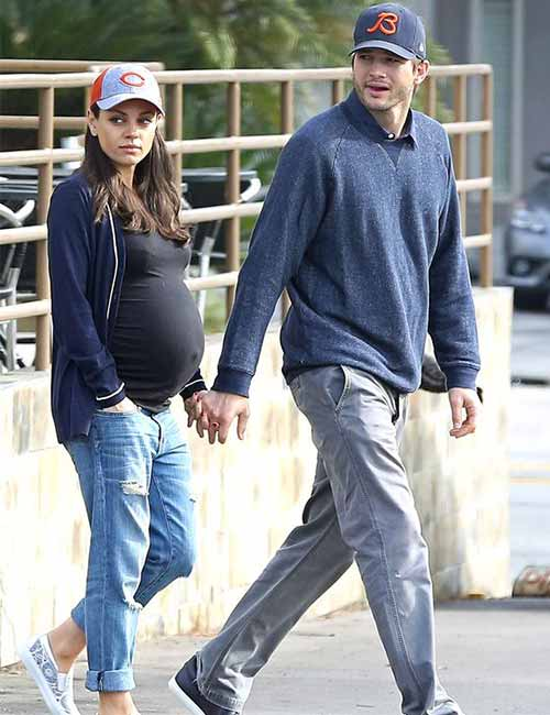 Pregnant Celebrities - Mila Kunis