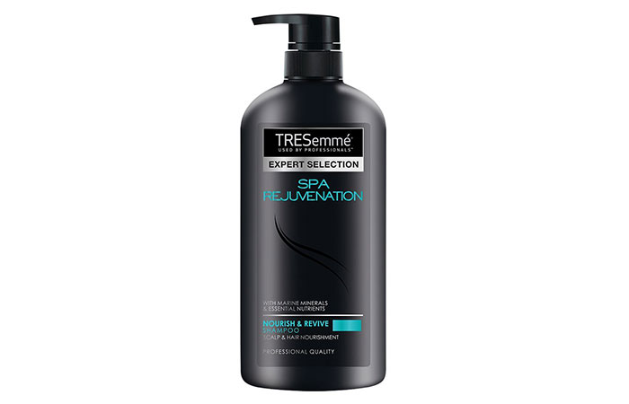 2. Tresemme Hair Spa Rejuvenation Shampoo