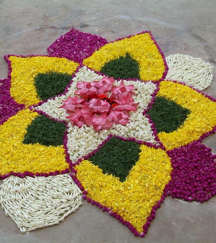 50 Mesmerizing Rangoli Designs And Patterns For 2019
