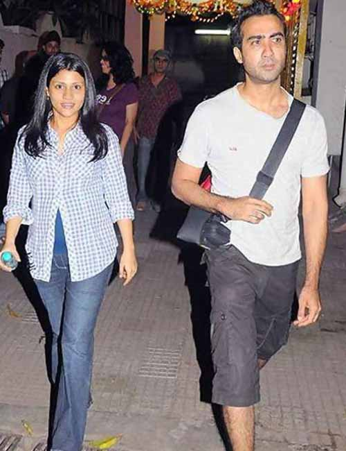 Pregnant Celebrities - Konkona Sen Sharma