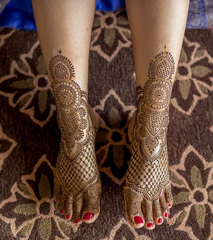 8 Best Leg Mehndi Designs To Try In 2019