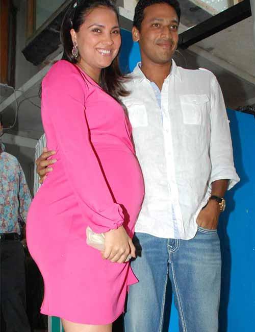 Pregnant Celebrities - Lara Dutta