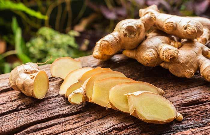26. Ginger For Dry Skin