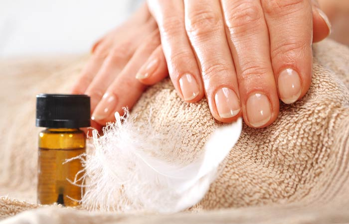 Tea Tree Oil - Strengthens Nails