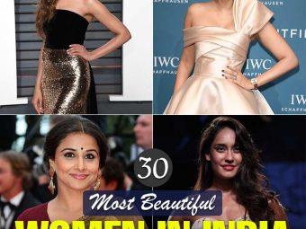 30 Most Beautiful Women In India