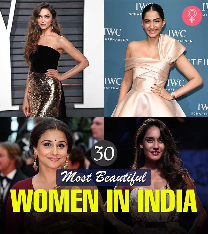 30 Most Beautiful Women In India