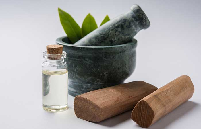 36. Sandalwood Face Pack For Dry Skin