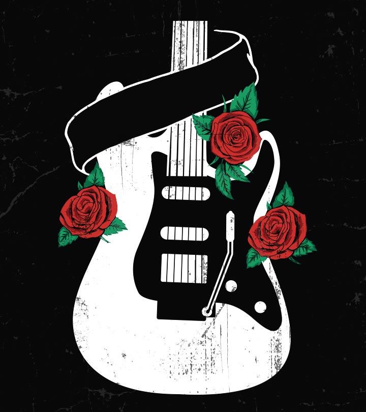 10 Trendy Guitar Tattoo Designs