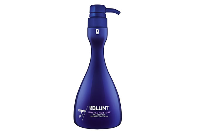 4. BBLUNT Intense Moisture Shampoo, For Seriously Dry Hair