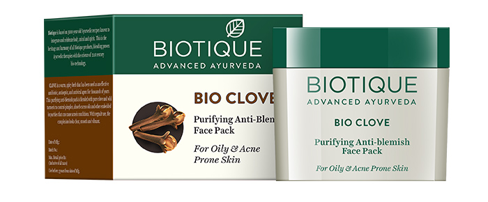 4. Bio Clove Purifying Anti-Blemish Face Pack For Oily And Acne Prone Skin