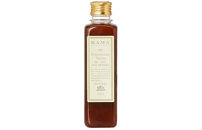 Safe Skin Care Products For Pregnant Women - Kama Ayurveda Dhanwantaram Thailam