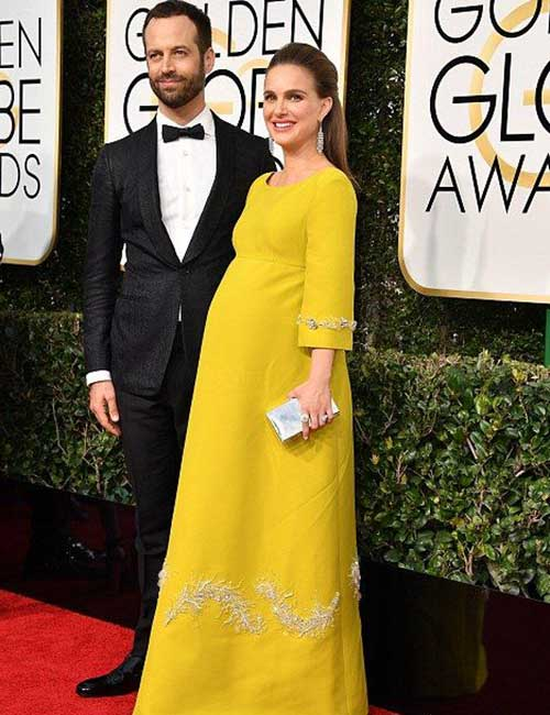 Pregnant Celebrities - Natalie Portman