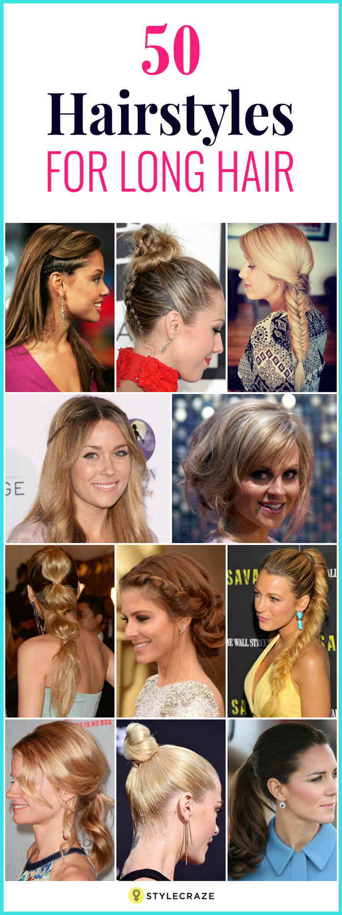 11 Unique Hairstyles For Long Hair
