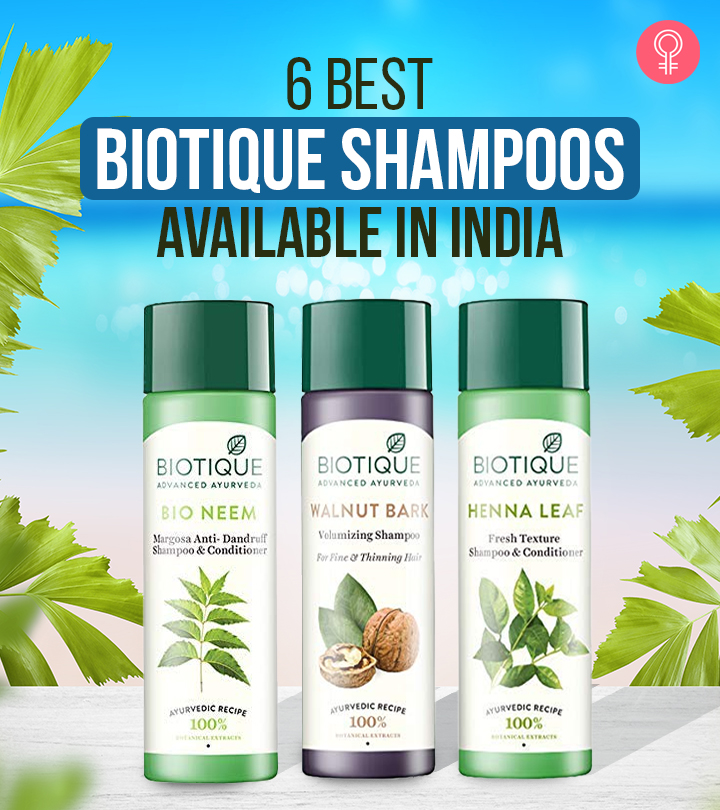 Best BIOTIQUE Shampoos Available In India – Our Top 6 Picks