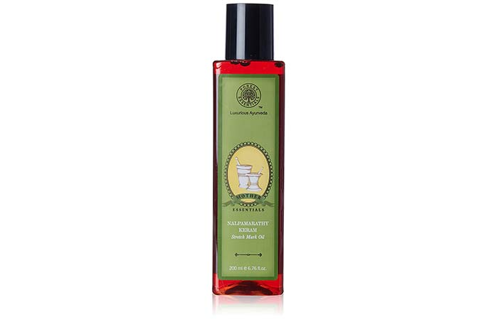 Safe Skin Care Products For Pregnant Women - Forest Essentials Mother's Stretch Mark Oil, Nalpamarathy Keram