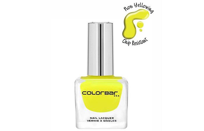 8. Colorbar Luxe Nail Lacquer, Pina Colada
