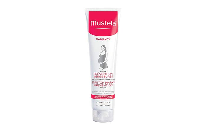 Safe Skin Care Products For Pregnant Women - Mustela Maternity Stretch Marks Prevention Cream