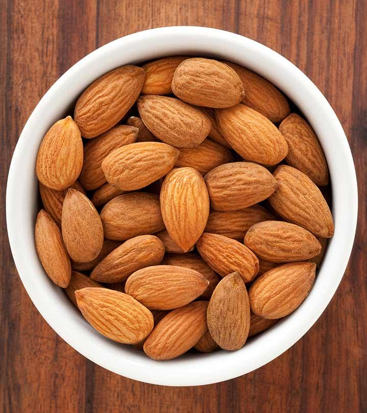 808_5 Simple Ways In Which Almonds Help To Lose Weight_iStock-155416134