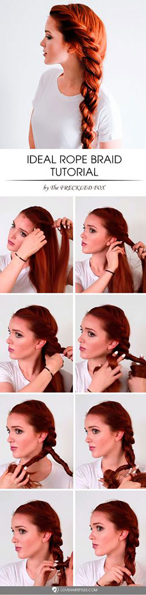 9. Ideal Rope Braid