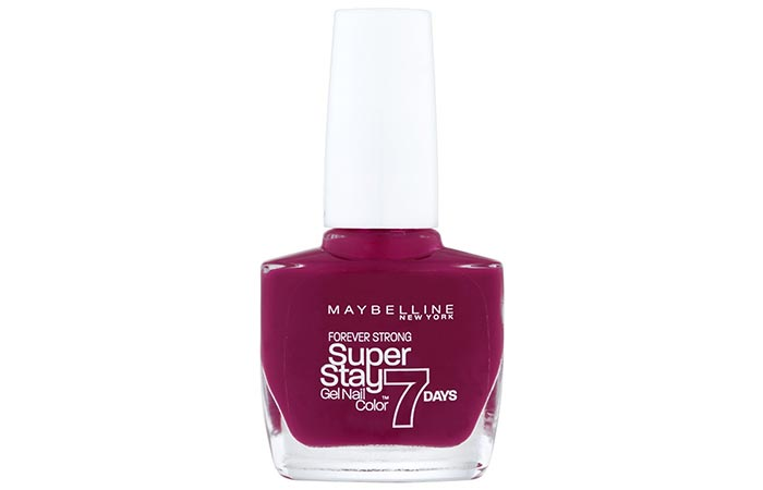 9. Maybelline New York Nail Polish, 265 Divine Wine