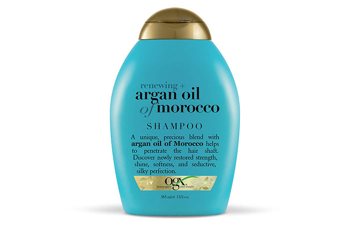 9. Organix Moroccan Argan Oil Shampoo
