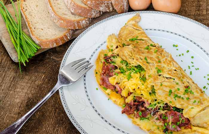 30 amazing diet recipes for weight loss low fat smoked turkey bacon omelet forumfinder Choice Image