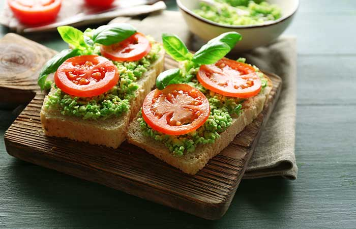 Diet Recipes For Weight Loss - Italian Style Open Sandwich