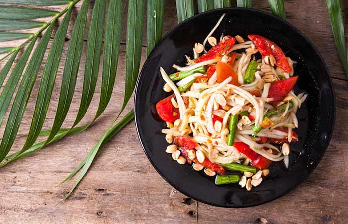 Diet Recipes For Weight Loss - Thai Papaya Salad