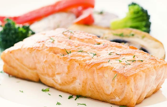 Diet Recipes For Weight Loss - Grilled Salmon And Broccoli