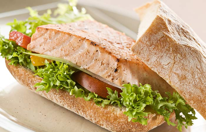Diet Recipes For Weight Loss - Grilled Fish Sandwich