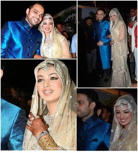 Ayesha Takia's Wedding Look
