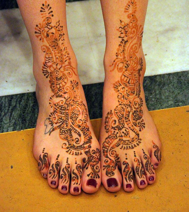 10 Latest Foot Mehandi Designs Never Seen Before 2019