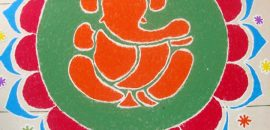 Best-Ganesh-Rangoli-Designs-That-You-Should-Try