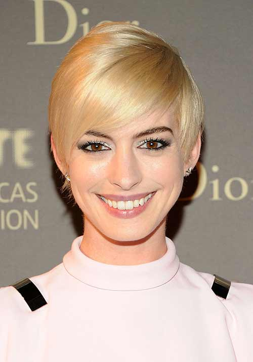 Bleached Blonde Pixie