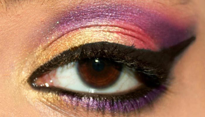 Bollywood Inspired Eye Makeup Step By Step Tutorial With