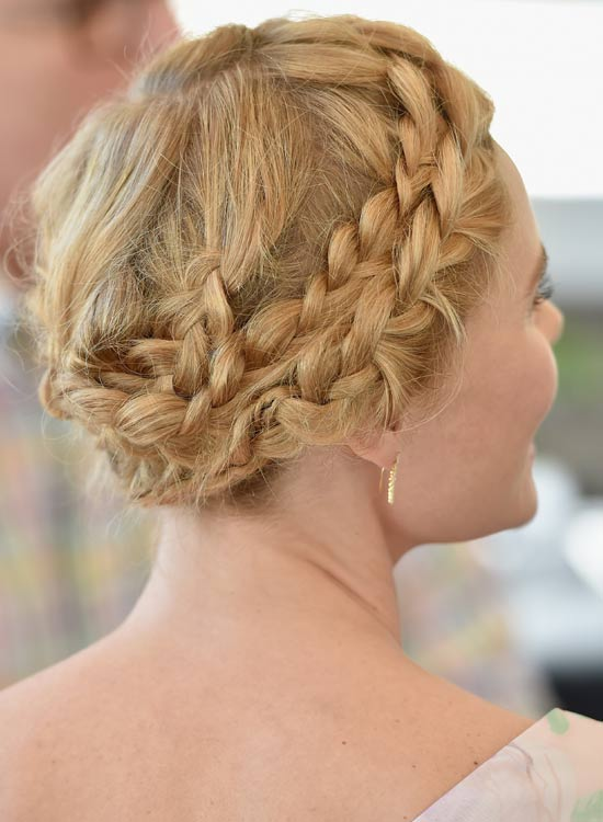 Braided-Headband-Hawser-Bun