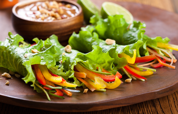 The 1000 calorie diet plan for weight loss 1 lettuce taco with yogurt sauce forumfinder Image collections