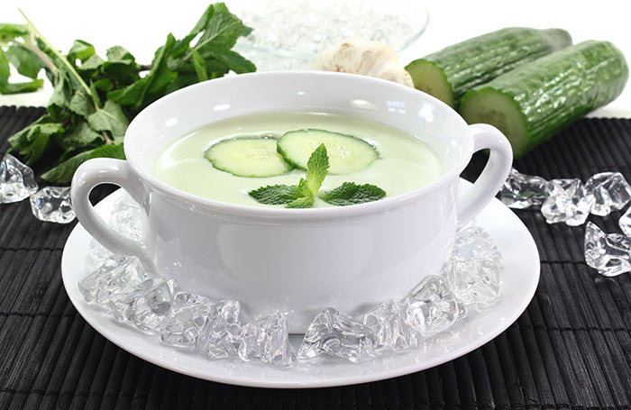 Irritable Bowel Syndrome Diet Recipe - Cooling Cucumber Soup