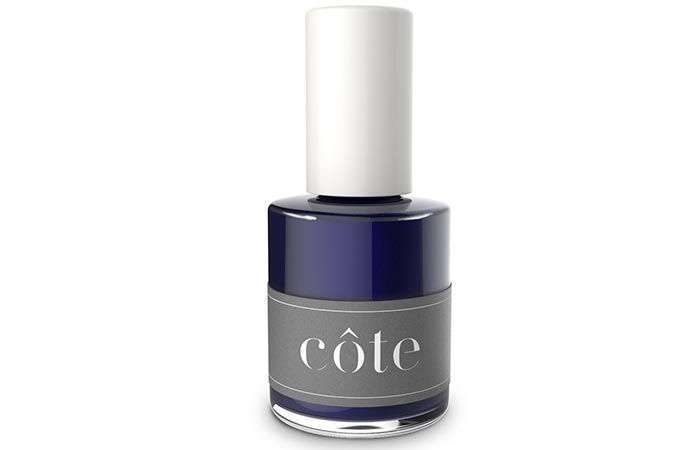 Cote Nail Polish in Versatile Navy