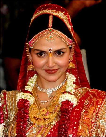 Esha Deol's Wedding Look