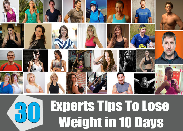 Experts Tips To Lose Weight in 10 Days