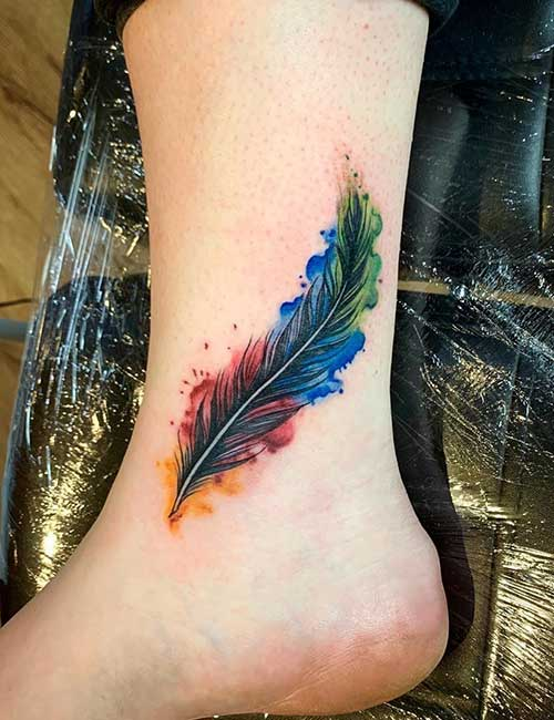 Feathers Tattoo Designs