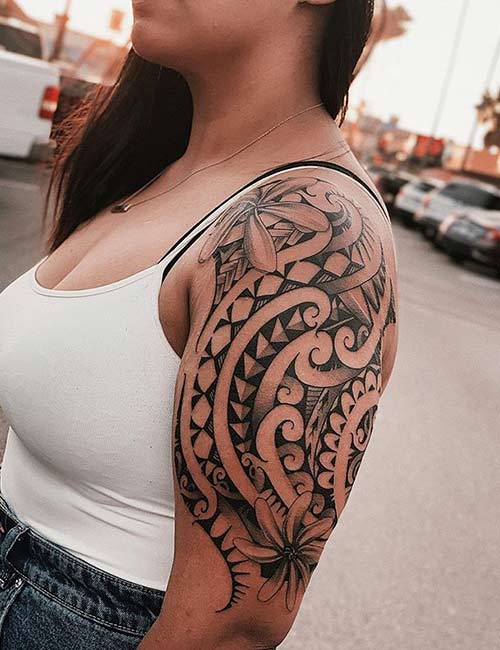 Shoulder Filipino Tattoo Designs And Meanings