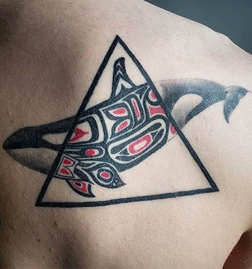 Haida Back Tattoo Designs Meanings