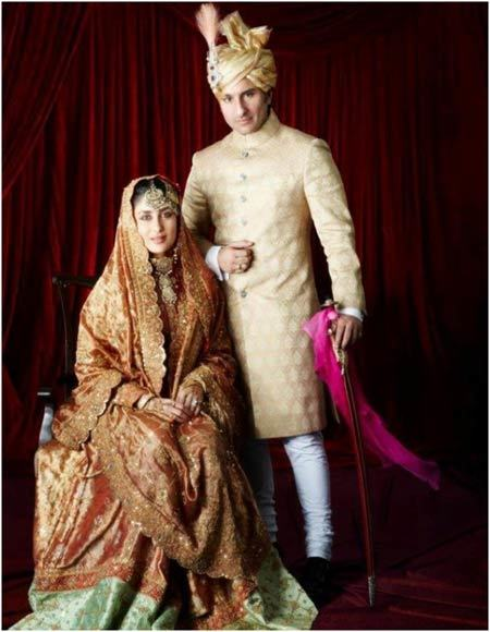 Kareen Kapoor's Wedding Look